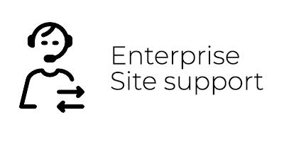 enterprise site support